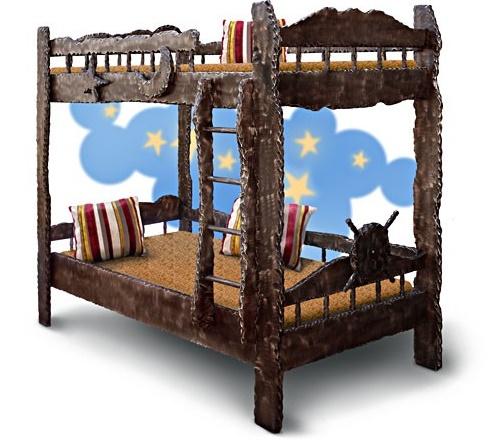 Кроватка детская из дерева