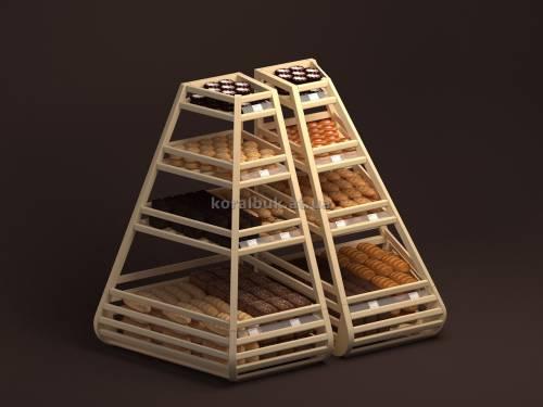 Стеллаж для хлебо-булочных изделий