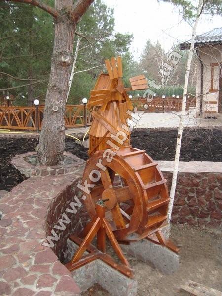 Построить водяную мельницу своими руками
