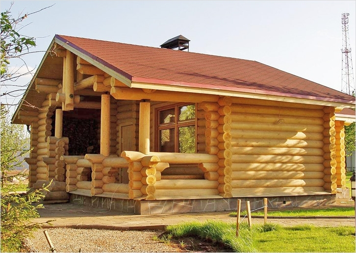 Бани деревянные