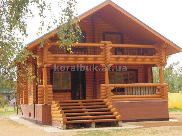 Дом капитальный из дерева