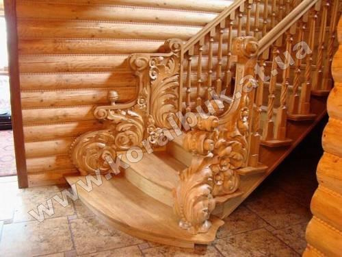 Лестница декорированная