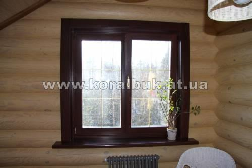 Окна деревянные