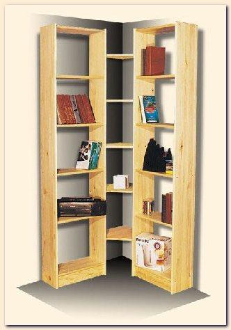 Модульный стелаж для книг