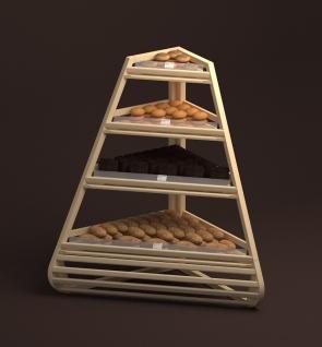 Стеллаж для хлеба и булочек